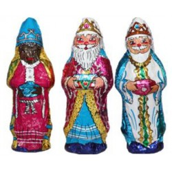 Chocolate assorted wise man figure 28g