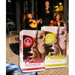 Amalia pack with Red or White Wine 1L