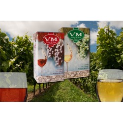 V. M. pack with Red or White Wine 1L