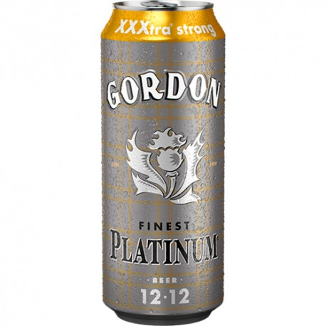 Beer Gordon Finest Platinum