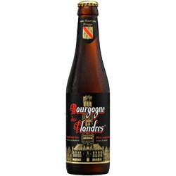 Beer Bourgogne des Flandres bottle with 33cl