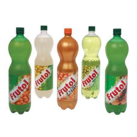 Frutol carbonated fruit juice 1.5L PET bottle Orange, Pineapple and Lemon