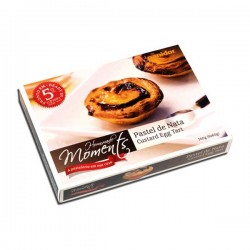 Portuguese Traditional Custard Egg Tart 360g (6x60g)