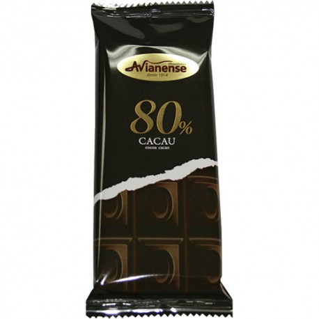 Chocolate bar with 80% Cocoa