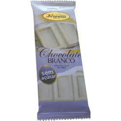 Sugarfree white chocolate bar