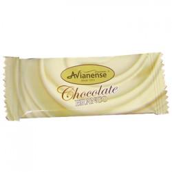 Mini white chocolate bar