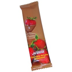 Strawberry flavoured bar