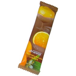 Orange flavoured bar