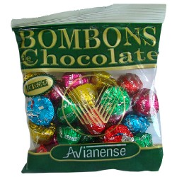 Small Chocolate bonbons in sachet