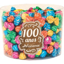 Small Chocolate bonbons in  transparent box 1,5 Kgs