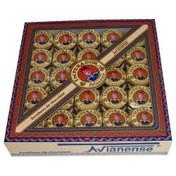 Chocolate bonbon Imperador in gift box with 250grs