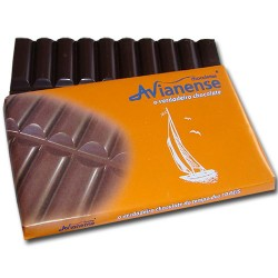 Corrugated Chocolate Bar 180grs