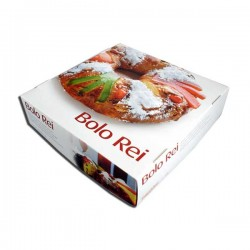 Bolo Rei - Traditional Christmas cake (ready) individual box 800grs