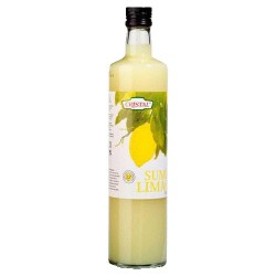 Lemon Juice Glass Bottle 750ml