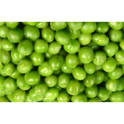 Peas in bulk packing