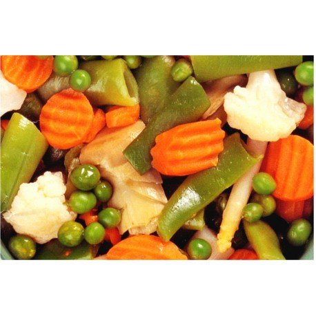 Vegetables Mixture 2 in bulk packing