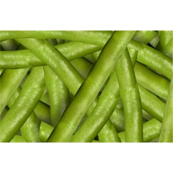Round Green Beans in bulk packing