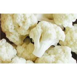 Cauliflower in bulk packing