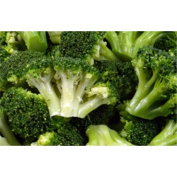 Broccoli in bulk packing