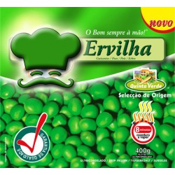 Peas in bag with 400grs