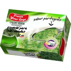 Portuguese Caldo Verde Soup (Kale and Potato Broth)