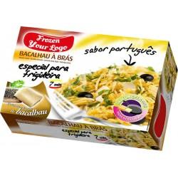 "Portuguese Style ""Bras"" Codfish"