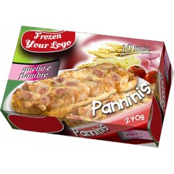 Panninis Cheese and Ham