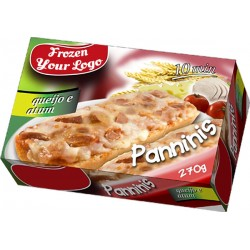 Panninis Tuna and Cheese