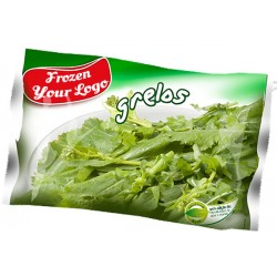 Frozen Sprouts in bag
