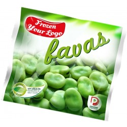 Frozen Broad Beans in bag