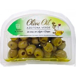 Green Olives with Oregano and Olive Oil 120gr
