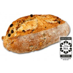 Brown Bread with Raisins and Nuts 350g