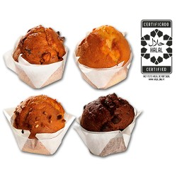 Muffin MIX 70g Almond - Orange -  Nuts and Honey - Chocolate