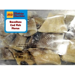 Loins of salted codfish crystal bag