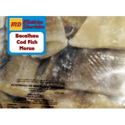 Loins of salted codfish crystal bag